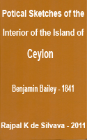 Poetical Sketches of the Interior of the Island of Ceylon