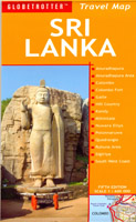 GLOBETROTTER : Sri Lanka Travel Map
